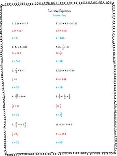 Solving Two Step Equations Using Algebra Tiles | Math | Pinterest ...