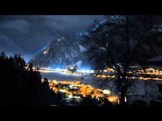 Beautiful Mountain View HD Timelapse Overlooking Mayrhofen /Austria