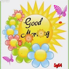 Cute Good Morning Gif, Good Morning Smiley, Good Morning Roses, Good Morning World, Good Morning Messages, Morning Wish, Morning Images, Animated Heart, Animated Love Images