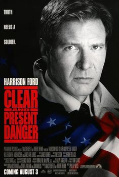 Clear and Present Danger (1994) Original One-Sheet Movie Poster