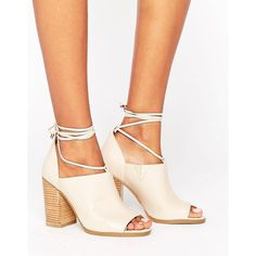 ea6a8dd6958 ASOS PLAYDATE Wide Fit High Heels ($45) ❤ liked on Polyvore ...