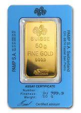 PAMP 50 GRAM  24K 999.9 Pure fine gold bullion bar  not 5 gram NOT 1 GRAM | goldankauf-haeger.de