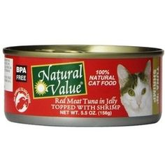 Enjoy Natural Value Tuna Shrimp Cat Food (24×5.5Oz). We started Natural Value in 1995 with 25 products and one compelling mission: to make natural and organic food products more affordable. We think that a healthy lifestyle should be affordable for everyone. We developed Natural Value because we felt that we could find and deliver premium quality natural and planet-friendly products to the marketplace in a more efficient and cost-effective manner. To that end, we've managed to streamline the…