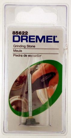 "1/2"" Diameter Genuine Dremel Brand Silicon Carbide Grinding Stone With 1/8"" Shank : ( Pack of 1 Pc )"