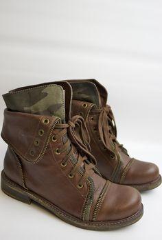Donelle Camo Boot - Zigi NY