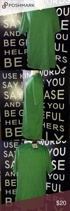 NWT Enyce V-Neck Green Nylon shoulders Enyce spelled on right shoulder Enyce Shirts Tees - Short Sleeve