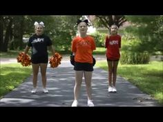 Rolla Youth Cheerleading - Knock Em Down - YouTube