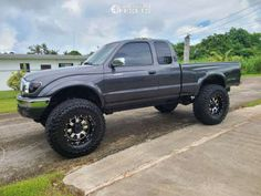 """2004 Toyota Tacoma - 17x9 12mm - Gear Alloy - Suspension Lift 3"""" - 37"""" x 12.5"""" Toyota Tacoma, Monster Trucks, Gallery, Vehicles, Roof Rack, Tacoma World, Car, Vehicle, Tools"""
