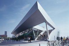 Cruise Center Hamburg Altona by Renner Hainke Wirth
