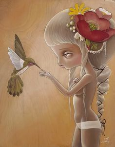 Kukula - La obra de esta artista israelí intenta conciliar el horror de la vida real con la dulzura de la vida de fantasía. Las protagonistas son unas mujeres-niña fascinantes... Inocentes muñecas con aire malvado y perverso, rodeadas de objetos de simbolismo a menudo bastante oscuro.