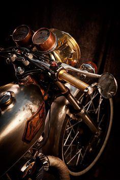 Steel & Brass.