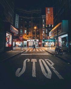 Tokyo Night Street. Tokyo Night Neon. Stunning Urban Instagrams by Max Boncina. Cool Street photography, creative street photography, night street photography.