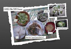 For Dinner on 28/Jun/2012