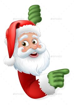 Buy Santa Claus Christmas Cartoon Character by Krisdog on GraphicRiver. Santa Claus Christmas cartoon character peeking around a sign and pointing Christmas Yard Art, Christmas Nativity Scene, Purple Christmas, Christmas Crafts, Christmas Decorations, Santa Christmas, Christmas Graphics, Christmas Clipart, Christmas Greetings
