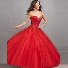 2015-New-Collection-Sweetheart-Beaded-Ball-Gown-font-b-Sweet-b-font-Fairy-Red-Quinceanera-font.jpg (800×800)