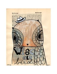 """wise old owl"" (trish grantham)"