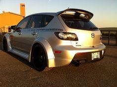 custom mazdaspeed 3 Mazda 3 Speed, Mazda 3 Mps, Mazda Cars, Hatchback Cars, Car Goals, Wide Body, Jdm, Cars And Motorcycles, Luxury Cars