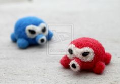 octorok-needle felted by ~littlemissysg on deviantART