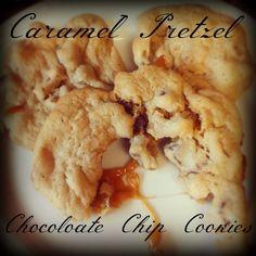 Caramel Pretzel Chocolate Chip Cookies