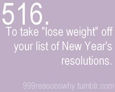 "This is one of my goals RIGHT NOW .... how cool to not have ""lose weight"" or ""get healthier in the new year"" on my resolution list! ♥"