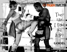 Want to learn to fight like a girl? ;) Let Tiger Muay Thai & MMA in Thailand help you teach those boys a lesson! Pump up your existence with our fear-crushing, adrenalin-pumping experiences! www.tigermuaythai.com