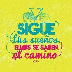 sueños, bicicleta, motivador, motivacion