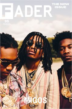 "Get this, 20"" x 30"", Migos poster featuring the cover artwork of The FADER Issue 95. *Please note: order will be processed immediately upon receipt, we will not be able to cancel or change your order"