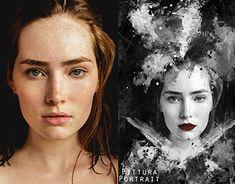 "Check out new work on my @Behance portfolio: ""Fantasy Retouching Portraits"" http://be.net/gallery/62630757/Fantasy-Retouching-Portraits #Customportraits #portraits #digitalart #digitalpainting #etsy #etsyshop #etsyseller #retouching #photoshop #photoshopartist #graphicsdesign #brushes #art #blackandwhite #monochromatic"