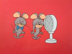 Pixie and Dixie Cartoon | Here are Pixie and Dixie. I thought with the microphone, this would be ...