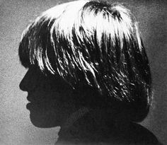 Brian Jones    photo by David Bailey; box of pin-ups series, 1965