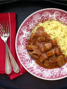 Tas Kebap (Greek Veal Stew in a Tomato Sauce) by My Little Expat Kitchen