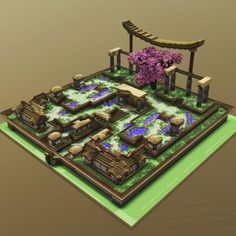 Asian Styled SpawnBuilder: you looking for cystom made builds? Contact us by the discord-link in the BIO Minecraft Plans, Minecraft Houses Blueprints, Minecraft Survival, Minecraft Japanese House, Minecraft House Designs, Minecraft Decorations, Minecraft Crafts, Minecraft Architecture, Minecraft Buildings