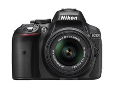 Nikon D5300 24.2 MP CMOS Digital SLR Camera with 18-55mm f/3.5-5.6G ED VR II Auto Focus-S DX NIKKOR Zoom Lens (Black) ** You can get additional details at the image link. (This is an Amazon Affiliate link and I receive a commission for the sales)