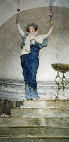 Una sacerdotisa de Hymen () L Alma-Tadema