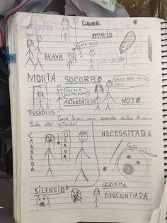 Em desenho menina de 14 anos revela os abusos que sofreu do pai