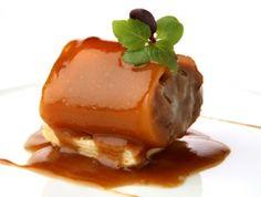 Canelón de zanahoria y rabo de toro estofado