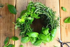 Herbs wreath