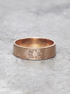 Moon Goddess Ring