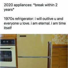 Am Time, Top Freezer Refrigerator, Inevitable, So True, Best Funny Pictures, Fun Facts, Funny Memes, Hilarious, Funny Sayings