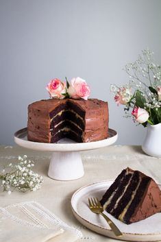 Gluten-Free Chocolate Cake - The Healthy Cook