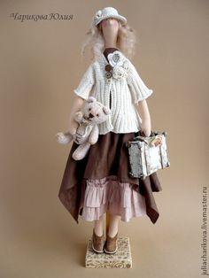 Куклы Тильды ручной работы. Ярмарка Мастеров - ручная работа Бохо. Июль. Ульянка.. Handmade.♡