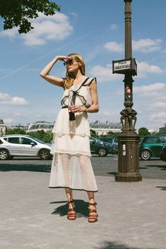 Snapped: The Perfect Summer Dress | Olivia Palermo
