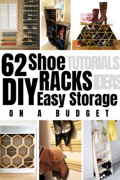 78 Best D I Y Shoe Storage images in 2018 | Shoe storage