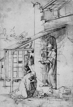 Baldung Grien, Hans: Christi Geburt [1] c.1505 Hans Baldung Grien, Student Gifts, Printmaking, Mythology, Tapestry, Portrait, Drawings, Painting, Color