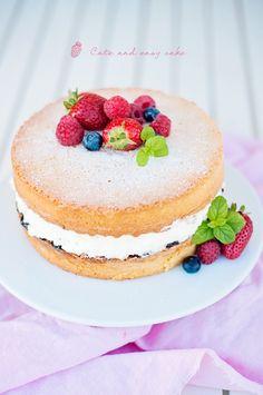 Cute and Easy Cake // Симпатична и лесна торта | 79 Ideas