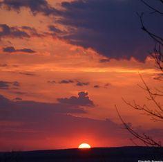 Morristown NJ   Saffron sunset