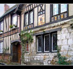 Vieilles maisons - Gerberoy, Picardie