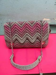 Discover thousands of images about Nga Kiều This Pin was discovered by vou Discover thousands of images about Ganchillo hecho a mano hermoso bolso de satchel regalo para Bobble Stitch Handbag Crochet Pattern with Video Tutorial DIY Tutorial - Crochet Ea Crochet Clutch Bags, Crochet Wallet, Bag Crochet, Crochet Handbags, Crochet Purses, Crochet Baby, Best Leather Wallet, Knitted Bags, Crochet Accessories