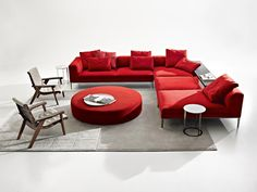 Best of Year Award 2012 by Interior Design magazine   New York, November 29th 2012.   Michel sofa, designed by Antonio Citterio, has been awarded as Best of Year 2012 in the category residential sofa!