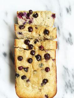 Paleo Blueberry Banana Breakfast Bread by rachLmansfield